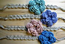 flower tutorial headband