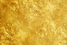 Текстура золотая