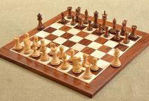 Golden Rosewood Chess Sets (Sheesham Wood)