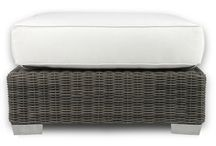 Ottomans / Add the perfect accent to your outdoor living space with these ottomans & footrests.