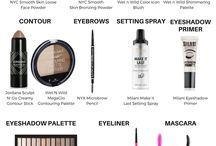 Awesome Makeup Products / The best of the best makeup products for face, eyes, and lips.