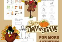 Thanksgiving Activities / by Kiddy House