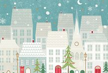 Christmas illustrations