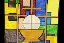 1st Communion Banners