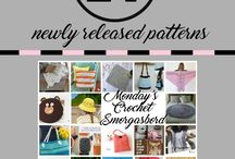 Crochet Smorgasbord / A weekly smorgasbord of some newly designed and released free crochet patterns
