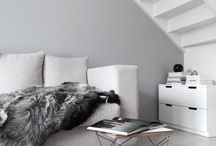 interior / you'll see a lot of white because white is life