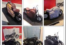 Cake Motorcycle