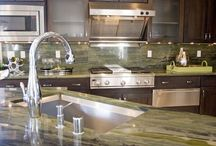 Kitchens / Marshall Stone has the stone supplies you need to create a beautiful new kitchen or upgrade. We have two locations, in Greensboro NC and Rocky Mount VA. Stop by our showroom to see a variety of products and designs.
