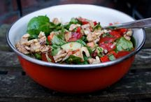 Tasty salads for dinner / Salad for dinner is always a good idea ^_^