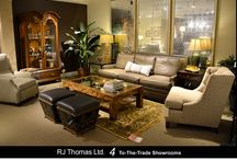 Twice-Annual SAMPLE SALE ~ March 2015 / Floor sample sale in all four RJ Thomas Ltd.'s showrooms. America's leading brands of fine furniture and accents.
