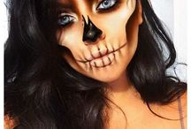 Halloween simple makeup looks