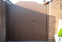 Fensys UPVC plastic gates / Both modern and stylish, our UPVC garden, side and driveway gates are a practical alternative to traditional metal or wooden gates.
