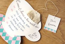 Tea Party Inspirational Board