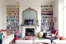 Bookshelves & Book Nooks