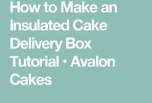 delivery cake box