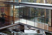 Large windows/open spaces