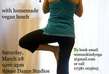 Womankind Yoga Wales / Images from Swansea based Womankind Yoga #yoga #women #Swansea #Wales #Vegan