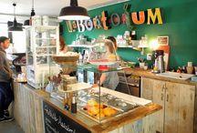 Deco restaurants and coffes