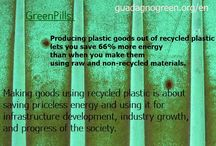 Green Pills / All about #recycling, #green lifestyle and #savingtheworld