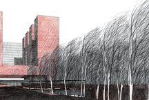 architecture. sketch