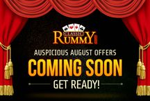 Online Rummy - August Offers / Play rummy card games online with the special offers at Classic Rummy for the month of August. Join today @ www.classicrummy.com?link_name=CR-12