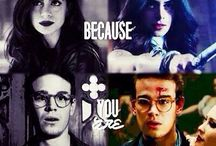 Shadowhunters / This is my absolute favorite series. Maybe you like it too!