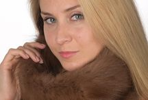 Sable fur neck warmers / Sable fur neck warmers. Luxurious fur neck warmers. Handmade in Italy. Top quality.  www.amifur.com