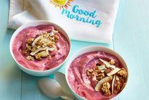 Healthy Breakfast Ideas / Simple but scrummy alternative breakfast ideas for kids. Alternatives to sugar stuffed supermarket cereals!