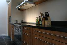 Keuken / Houten keuken, teak keuken, maatwerk keuken