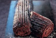Yule Log Blog / This Baking Time Club Pinterest board features a number of different Yule Logs for the Christmas period.