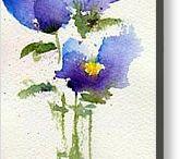 flors pintadas