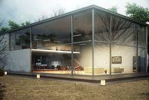 Home design. / Casas y cosas de casa.