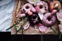 Donuts. / Donuts are predicted to be one of the weddings 2016 trends, so we thought we would put together this glorious board of the prettiest donuts for your inspiration.