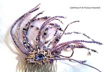 Wedding Formal Races Hair Accessories / Etsy shop