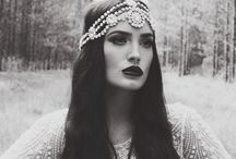 headpieces glam