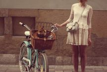 bikes with her