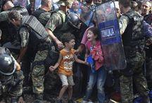 Refugees / Refugees all over the world