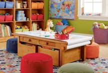 Playrooms / by Ainsley Sherrie