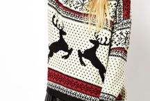 ugly christmas sweaters / new trend, i love it!