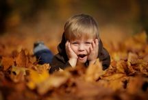 Děti podzim
