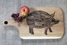 Chopping Board Laser Engraving
