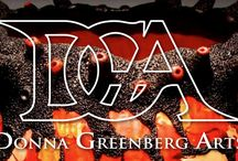 Donna Greenberg Arts Website 2016 / New art and jewelry offerings for sale on my new website.