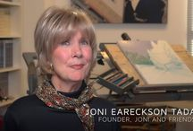 Joni's Corner / Joni Eareckson Tada has lived in a wheelchair for almost 50 years. God has taken her down a rough road — living with paralysis isn't easy. But on that rocky path, she's discovered many diamonds in the dust, slivers of scripture packed with power — a fragment from a biblical proverb or a snippet of a Psalm ... Stop by each week for the new, heartening, and encouraging lesson! / by Joni and Friends