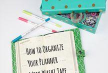 planner & stuff