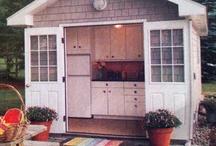 Backyard- Kitchens
