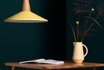 Printemps, été, spring, summer / Des luminaires aux couleurs printanières et estivales  Spring & summer colors lighting