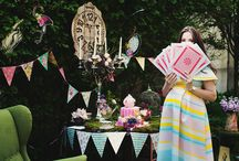 Alice in Wonderland baby shower
