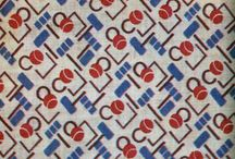 Prints on Textile in USSR (Russia) / Prints on Textile in USSR in the beginning of the 20th century - avant-garde etc