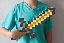 It's a pixilated world - Minecraft / by Michelle Maffei
