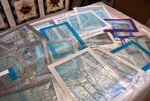 Thermofax Printing + Screen Printing
